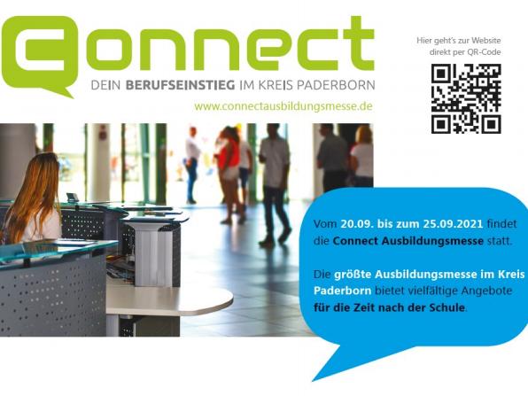 "You are currently viewing Paderborns größte Ausbildungsmesse ""Connect"" startet bald digital"
